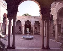 Patio d'une hacienda
