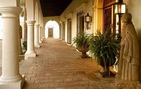 Hacienda transformée en hotel