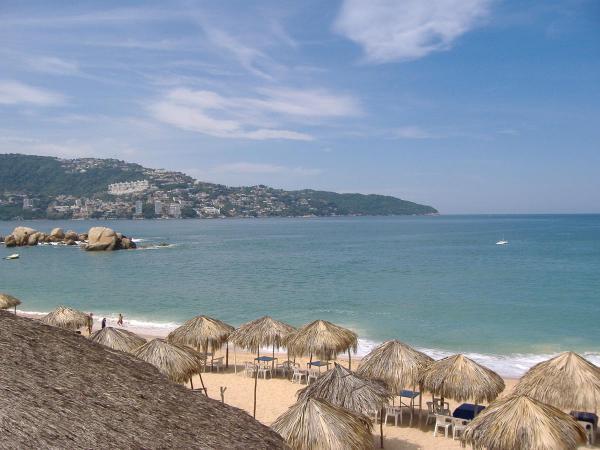 Une vue sur la baie d\'acapulco
