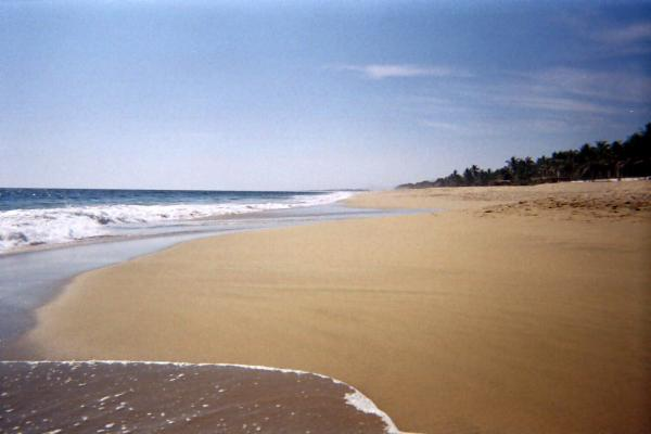 Pie de la Cuesta, magnifique plage