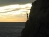 Plongeur de la Quebrada, de nuit!