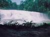 Très belle cascade dans la région du Yucatan