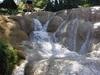 A Agua Azul, les cascades ont bien erodé la roche.