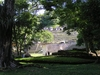 Bonampak. Vue générale de la pyramide