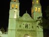 Cathédrale de Campeche le soir