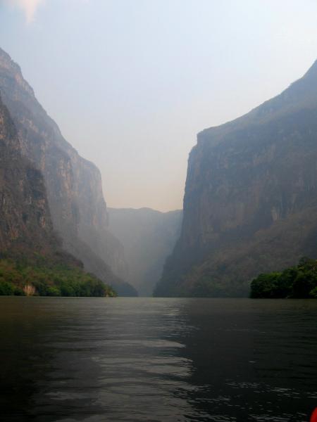 Emblême du Chiapas : l\'entrée du Canyon du Sumidero