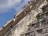 Chitchen Itza : plus facile de monter ou de descendre ?