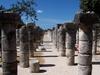 Les colonnes de Chichén Itza