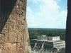 Le temple des mille colonnes, vue du haut de la grande