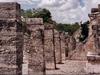 Des ruines bien conservés de Chichen Itza