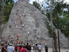 Pyramyde Maya à Coba au Mexique