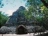 La seule pyramide ronde du Yucatan