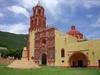 Eglise du pueblo Landa de Matamoros.
