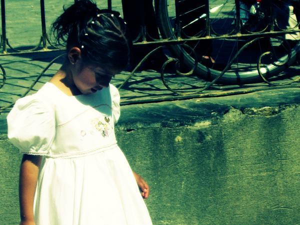 Petite fille à Tlaquepaque, Guadalajara, Jalisco, México