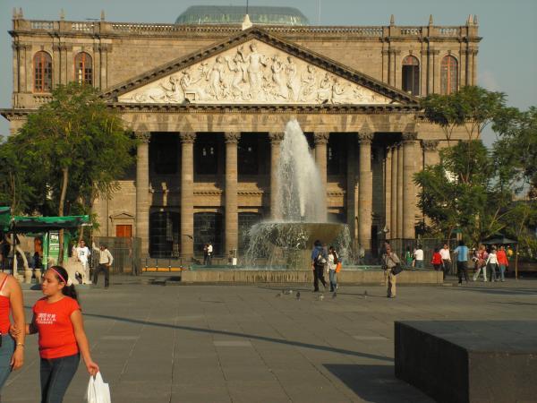 Le théâtre de Guadalajara