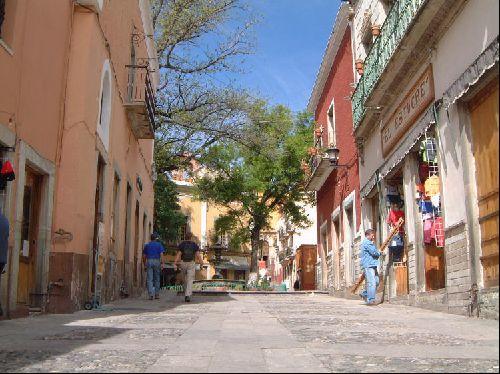 Une ruelle de guanajuato