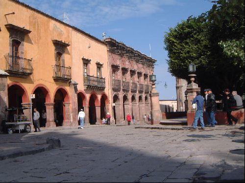 Une jolie place a Guanajuato