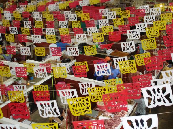 Marché alimentaire de San Cristobal de las Casas