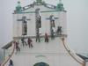 Jour de peinture sur l'église de San Juan Chamula