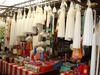 Marchand de bougies, marché de San Cristobal de las Casas