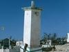 Phare de puerto Morelos, plus incline que la tour de Pise