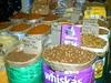 De la nourriture pour chat en gros sur un marché couvert de Mérida ?