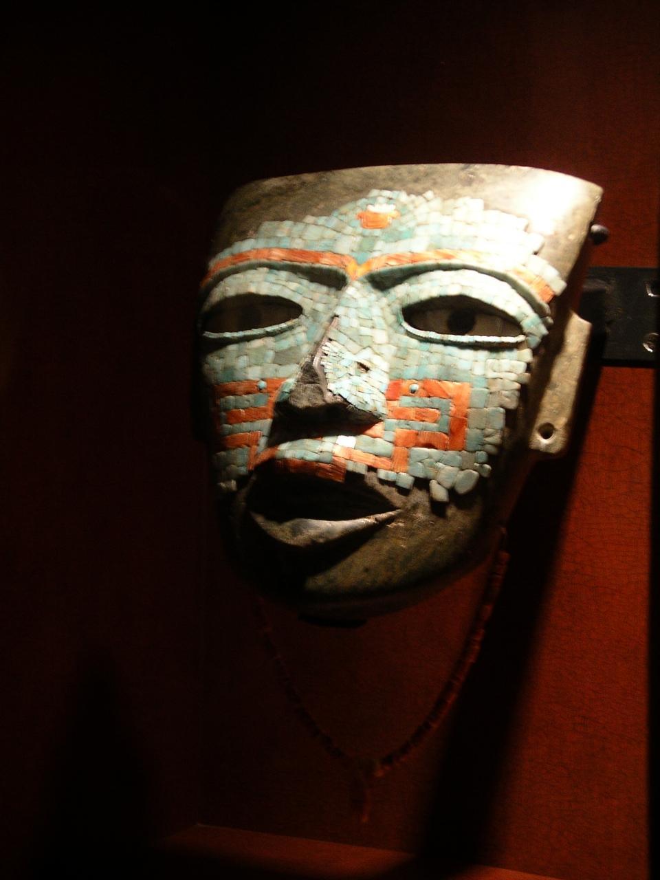 Masque funéraire de Téotihuacan