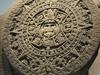 calendrier azteque au musee d'antrophologie