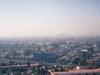 Pollution de Mexico un jour de beau temps