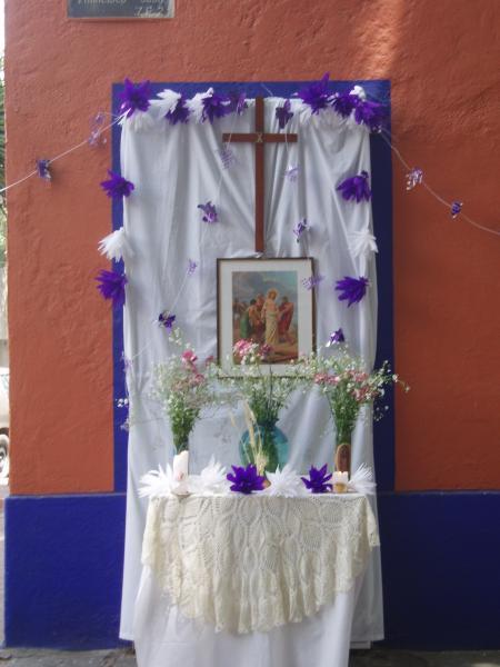 Vendredi Saint à Coyoacan