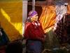 Indienne au marché