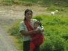 Jeune femme et son enfant