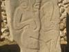 Sculpture représentant les sacrifices au Monte Albán