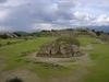 Une petite partie du site archéologique de Monte Alban, près de Oaxaca.