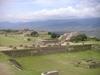 Superbe vue du site de monte alban