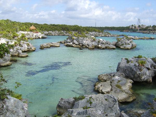 Parc de Xel-Ha: un paradis pour les poissons...