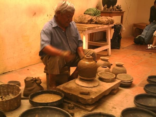 Façon de faire le de la poterie avec du \