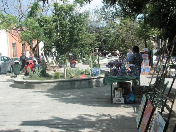 La plaza Santo Domingo à Oaxaca