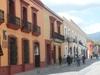 Une rue typique de Oaxaca