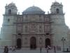 la cathédrale près du zocalo à Oaxaca