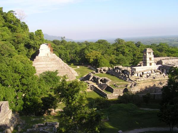 Sur les hauteurs de Palenque