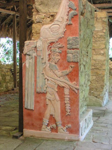 Découverte récente à Palenque