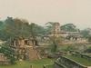 Plusieurs ruines de Palenque en panoramique