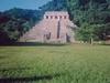 Vue de face du Templo de las Inscripciones
