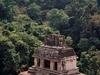 Un des nombreux temple de Palenque