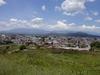 vue d'ensemble de la ville de Cholula