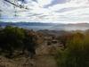 Belle vue sur les chaînes montagneuses