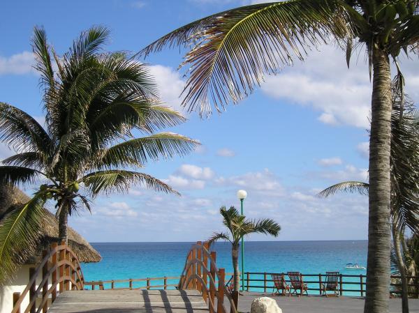 Magnifica playa a Cancun