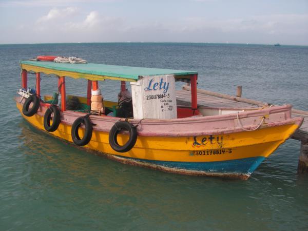Une barque...