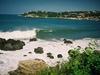 La plage et les vagues surtout de Puerto Escondido.